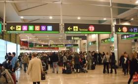 Los viajes a Europa se redujeron hasta un 50%