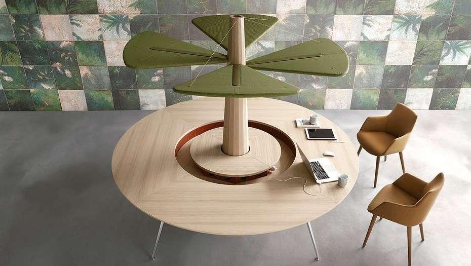 Semana del diseño en Milán: Mobiliario para pasarla bien en la oficina